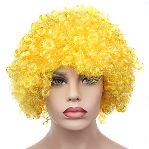 Yellow Clown Wig - 1