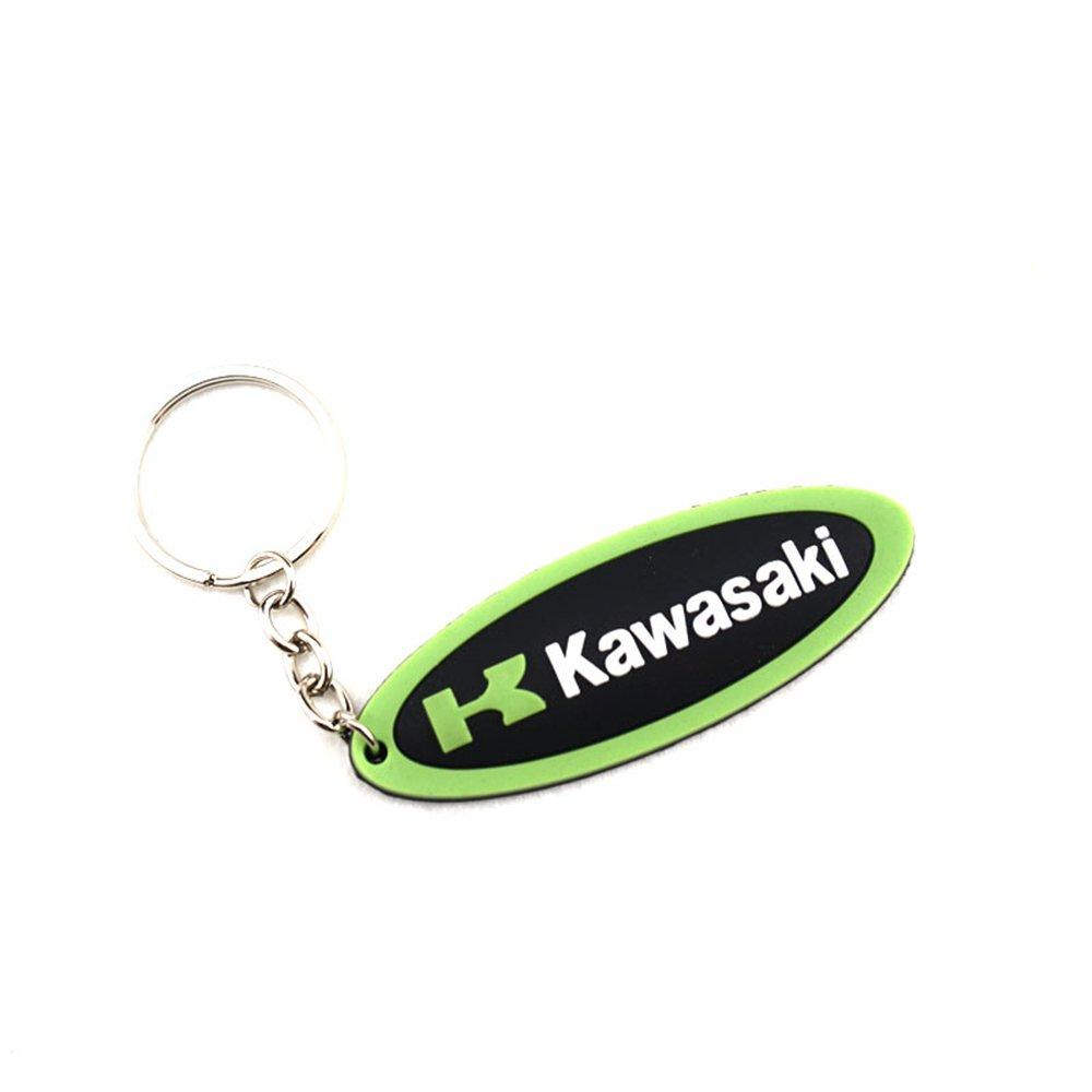 Motorcycle Rubber Keyring Keychain Key Chain For KAWASAKI Ninja Z900 ZXR Z800