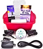 Ionic Ion Detox Foot Spa Detox Aqua Cleanse Chi Machine. 2 Stronger Super Duty Arrays FREE Reagin Health & Vitality Booklet & Brochure.