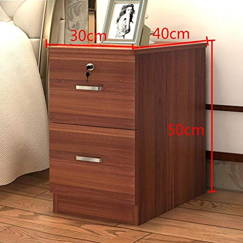 Bedside Table Bedside Table/Night Stand Bedside Table with Drawer Shelf Cabinet Storage Unit with Lock Mini Small Cabinet Bedroom Assembly Locker (Color : B3)