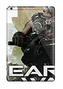 Hotlove Case Cover For Ipad Mini/mini 2 - Retailer Packaging Gears Of War 3 Clayton Carmine Protective Case