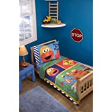 Sesame Street Construction Zone 4 Piece Toddler Set