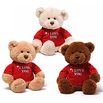 Amazon gund i love you bear single colors will vary toys gund i love you bear single colors will vary voltagebd Images