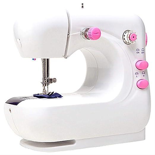 Yuaer Mini máquina de coser manual con pedal máquina de coser ...