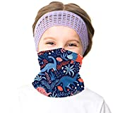 meakeize Girls 4th of July Ski Mask Breathable Face Mask American Flag Ski Accessories Independent Scarfs for Boy