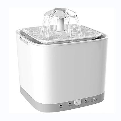 Ab Pet Hair Dryer Bebedero Gatos Automático Fuente de Agua Gatos y Perros 2L Dispensador Automático