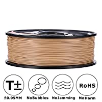 3D MARS Wood-Infused PLA 1.75mm ,3D Printing Filament,3D Printer Filament 1.75mm PLA,Dimensional Accuracy +/- 0.05mm,1.2kg Spool,1.75 mm PLA 3D Filament for Most 3D Printer & 3D Printing Pen from 3D MARS