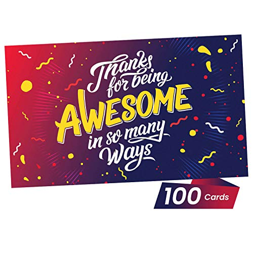 (Thank You Appreciation Gifts Cards - You are Awesome Recognition, Encouragement and Kindness Notes for Employees, Teachers, Staff, Graduation, Friends, Family, Co-Workers - Box of)