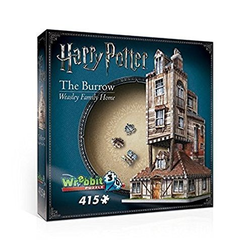 WREBBIT 3D The Burrow-Weasley Family Home 3D Jigsaw Puzzles (415Piece) (415 Piece) WREBBIT PUZZLES W3D-1011