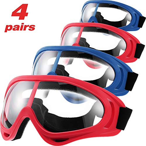 4 Pairs Protective Goggles