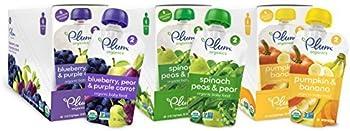 18-Pack Plum Organics Second Blends Variety Pack