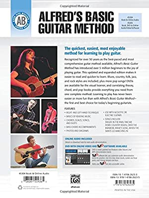 The Most Popular Method for Learning How to Bk 2 Alfred/'s Basic Guitar Method