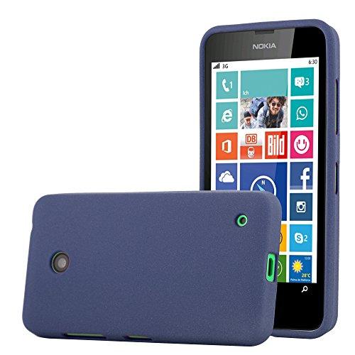 Cadorabo - Cubierta protectora para Nokia Lumia 630 de silicona TPU en diseño Escarcha