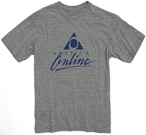 Aol Logo Mens Graphic Tee Shirt