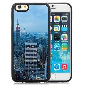 NEW Unique Custom Designed iPhone 6 4.7 Inch TPU Phone Case With New York City Blue Dusk_Black Phone Case