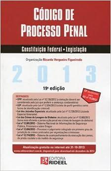 Book Codigo De Processo Penal