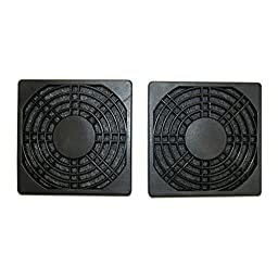 MASSCOOL 120mm ABS Plastic Foam Cooling Fan Filter, Pack of 2 (FFT-2P-120MM)