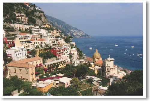 Positano Italy - New World Travel Poster