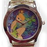 Disney Fairies Tinkerbell Gold Strap Watch #41368B