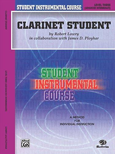 Student Instrumental Course Clarinet Student: Level III