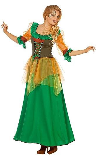 Kostüm Damen Waldfee Klamotten Herbstfee Fee Karneval uJ53K1clFT