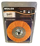 Dico 7200077 Nyalox Wheel brush, 4.5'', Orange