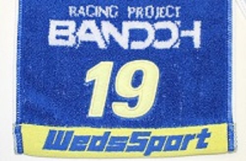WedsSport (Weds Sport) Bakuso Bando sets TEDMAN (Ted Mann) lightning Motors collaboration Muffler Towel 2015 Size: Size:? About 1100 × 200mm WTOT-001