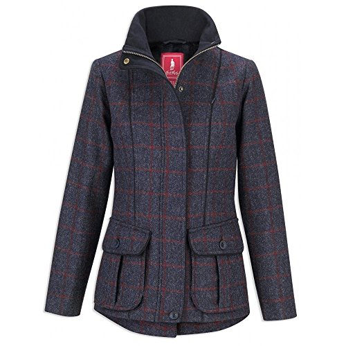 Jacket Herringbone Navy Ladies Check Herringbone Navy Jack Prue Murphy Check xBqwHYYO8