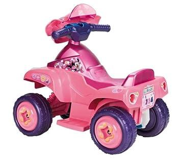 FEBER Quad Minnie + Batería 6V 4.5Ah vehículo niños: Amazon ...