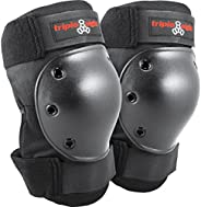 Triple Eight 604352 60004 Saver Series Kneesaver , Black, One Size Fits All