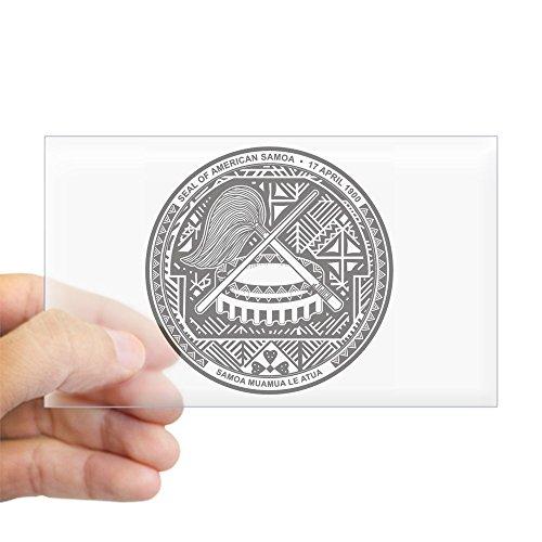 CafePress American Samoa Coat of Arms Rectangle Sticker Rectangle Bumper Sticker Car Decal ()