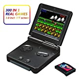 Xinguo Handheld Game Console, Portable Video Game 3 Inch HD Screen 300 Classic