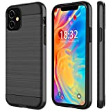 Nineasy iPhone 11 Case, 【2019】 360° Stylish Dual Layer Hard PC Back Full Body Protective Shockproof Slim Wireless Charing Support Cover Case for iPhone 11(6.1inch)