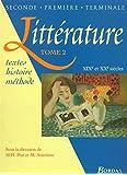 Littérature, tome 2. XIXe et XXe siècle