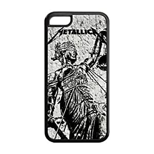 American Heavy Metal Band Pattern Metallica Iphone 5C Case Cover hjbrhga1544