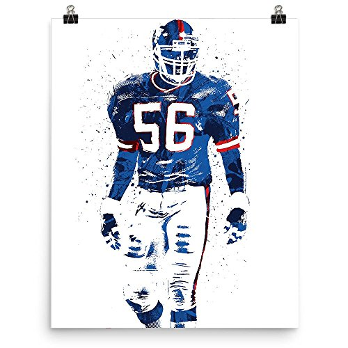 Lawrence Taylor New York Giants Poster Giants Lawrence