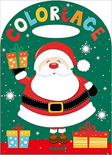Coloriage Un Noël Magique Coloring Christmas Book French Edition