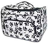 Cheap Wahl Professional Animal Paw Print Travel Tote Bag Black and White #97764-001