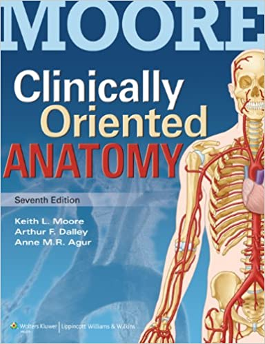 Moore Clinically Oriented Anatomy 7E Text & Moore\'s Clinical Anatomy ...