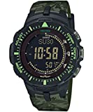 Casio Mens Pro Trek TRIPLE SENSOR Digital Dress Solar Watch NWT PRG-300CM-3D