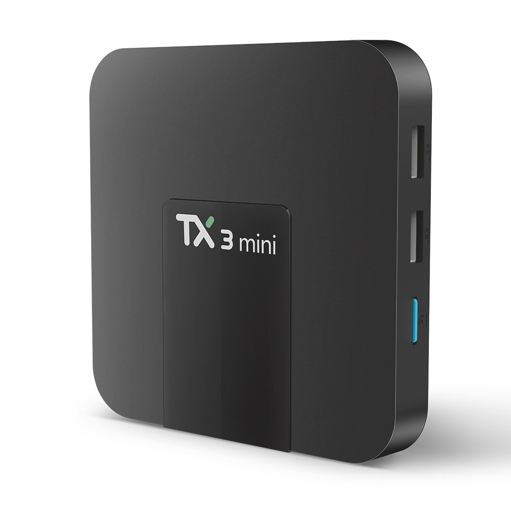 TX3 Mini Tv Box,WeChip Android 7.1 smart Tv Box 2G+16G Amlogic S905W 4K HD WiFi Set Top BOX