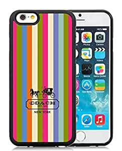 Fashionable iPhone 6S TPU Screen Case ,Beautiful And Unique Designed Skin Case With Coach 3 Black iPhone 6S Cover Case Great Quality Phone Case