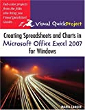 Creating Spreadsheets and Charts in Microsoft Office Excel 2007 for Windows, Maria Langer, 0321492382