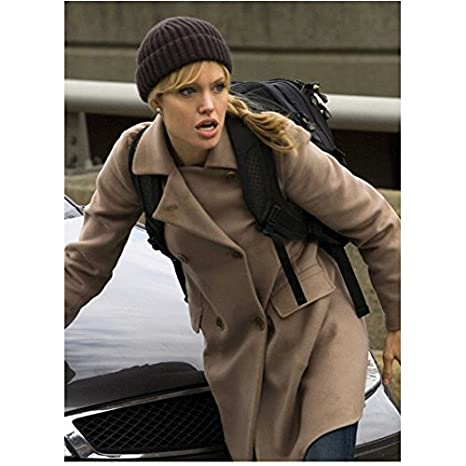 Salt Angelina Jolie as Evelyn Salt in Hat and Brown Peacoat Lips Open 8 x  10 inch photo at Amazon s Entertainment Collectibles Store 3e2293f22