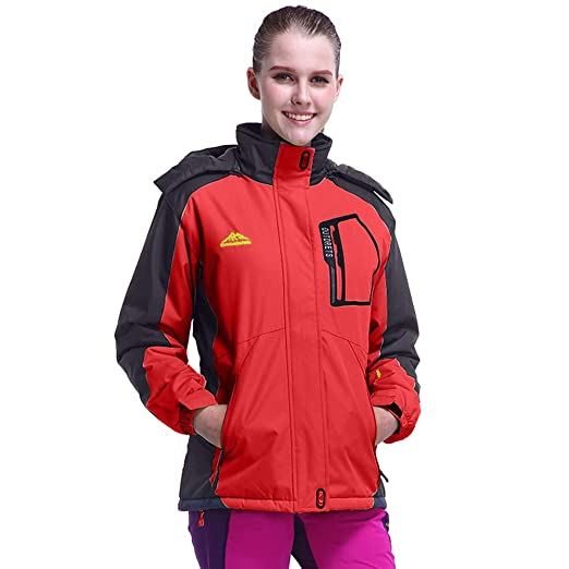 Amazon.com: HYIRI Classic Womens Winter Outdoor Zipper ...