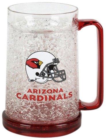 Arizona Cardinals Crystal Mug (Freezer Cardinals Mug)