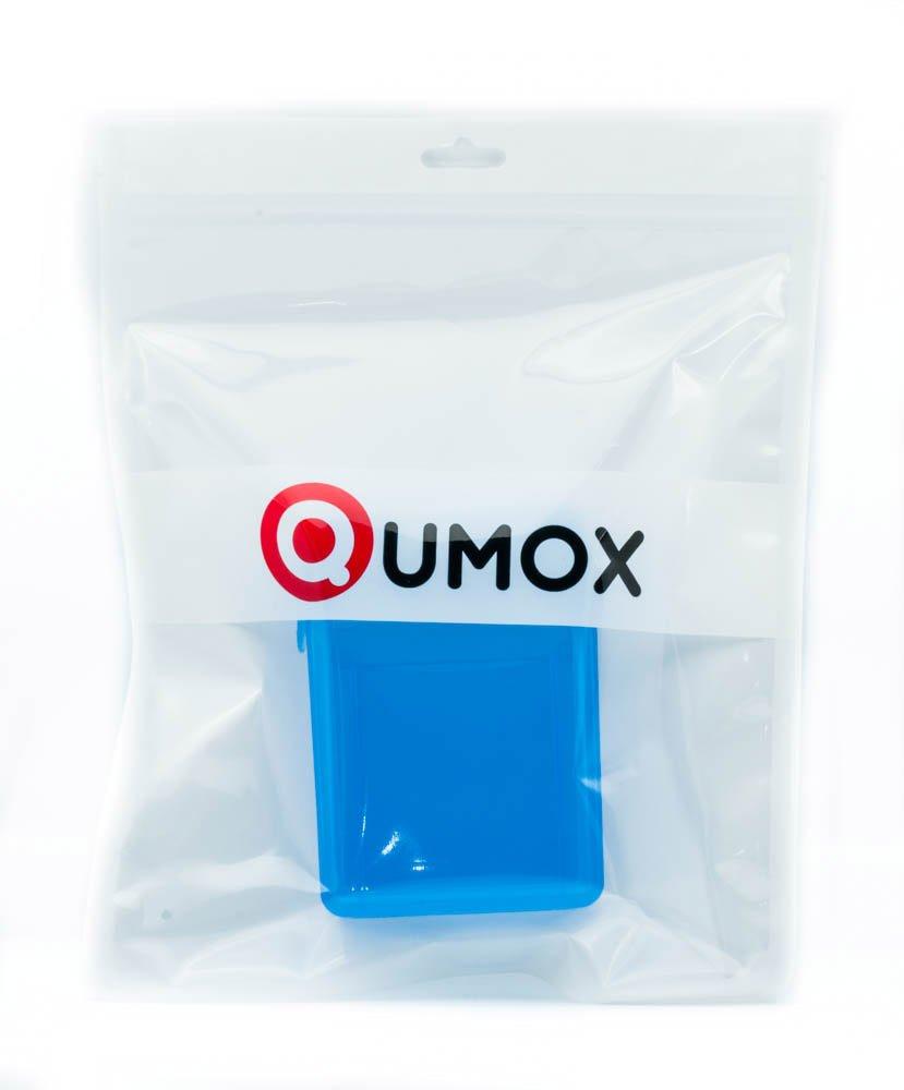 QUMOX Carcasa Protección Almacenamiento Disco Duro (2 HDD ...