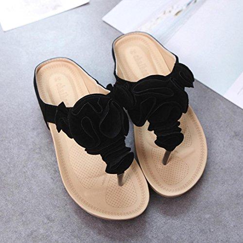 Sandalias Sandalias Planos Sandalias Plataforma Negro Verano Mujer Chanclas 2018 Mujer Zapatos Familizo Sandalias De Mujer Vestir 4PqCC
