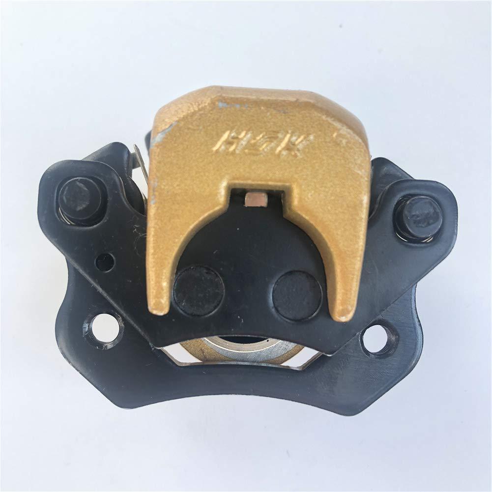 AH Front Brake Caliper Left included brake pad for Kandi 150cc 200cc 250cc GoKart Dune Buggy Quad ATV Roketa Kinroad