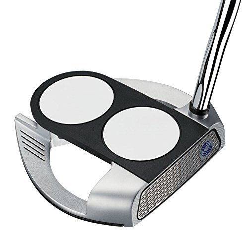 Odyssey Men's Works 2-Ball Fang Putter with SuperStroke Grip, 34-Inch, Right